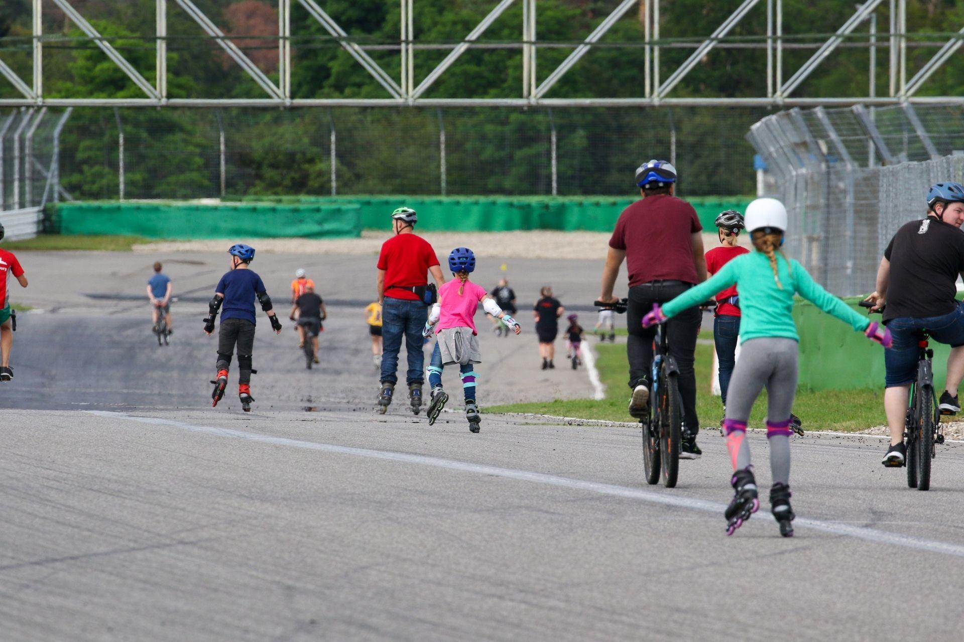 Testet die Strecke am 30. Juli bei Fit on Track!