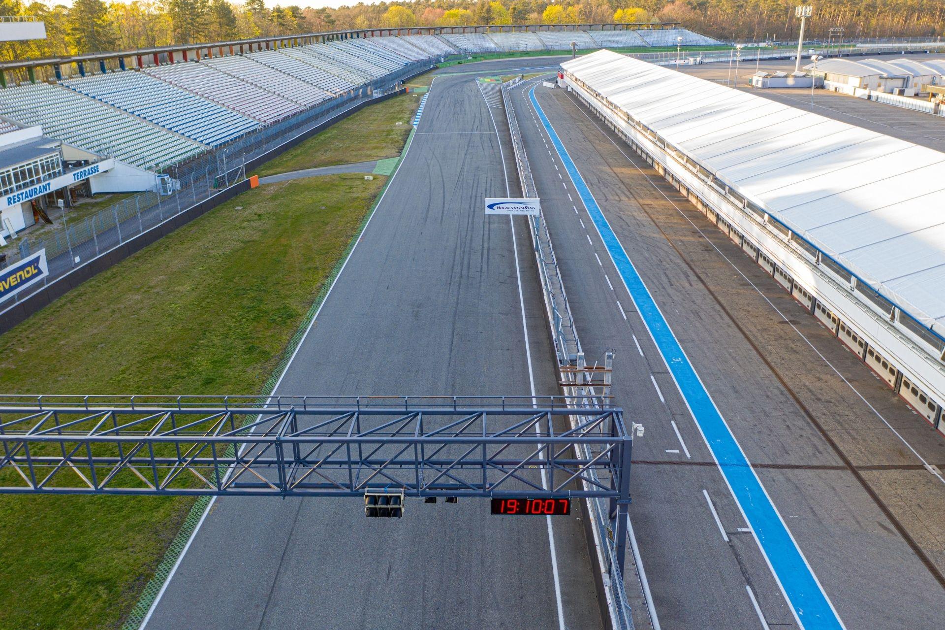 Laufe auf dem original Grand-Prix-Kurs am Hockenheimring!